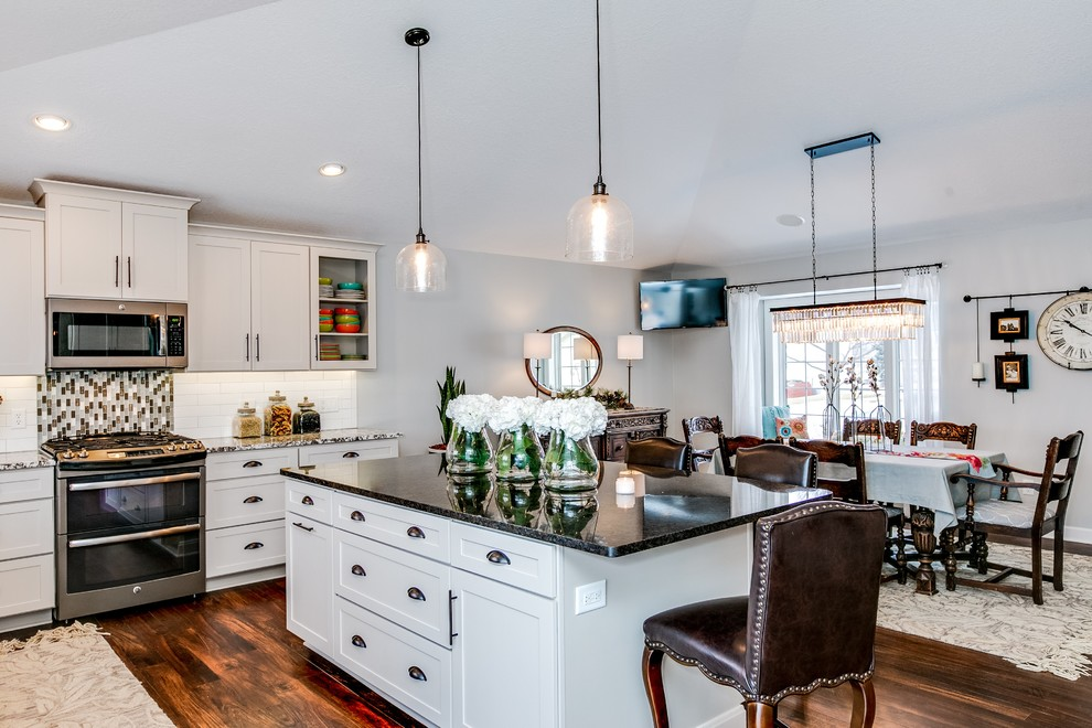 Transitional Kitchen Remodel | Cottage Grove, MN | White ...