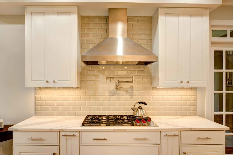 Transitional Kitchen Remodel Durham, NC - Transitional ...