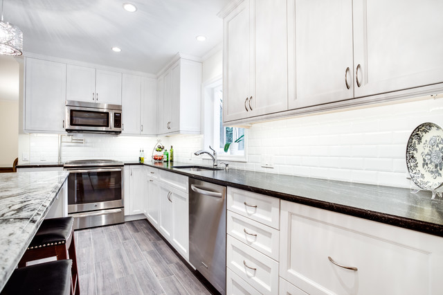 Transitional Kitchen Remodel Edgewater Md By Reico Kitchen Bath Transitional Kitchen Dc