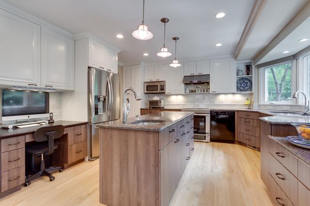 Transitional Kitchen Remodel Fairfax Va Transitional