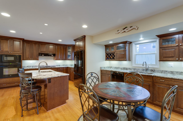 Transitional Kitchen Remodel Falls Church Va Transitional Kitchen Other Metro By