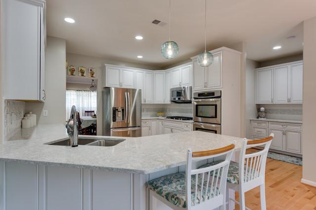Transitional Kitchen Remodel Fredericksburg, VA by Reico ...