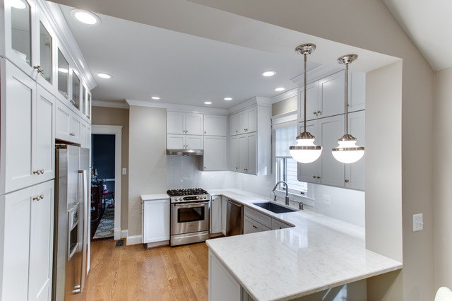 Transitional Kitchen Remodel In Chevy Chase MD By Reico Kitchen Bath