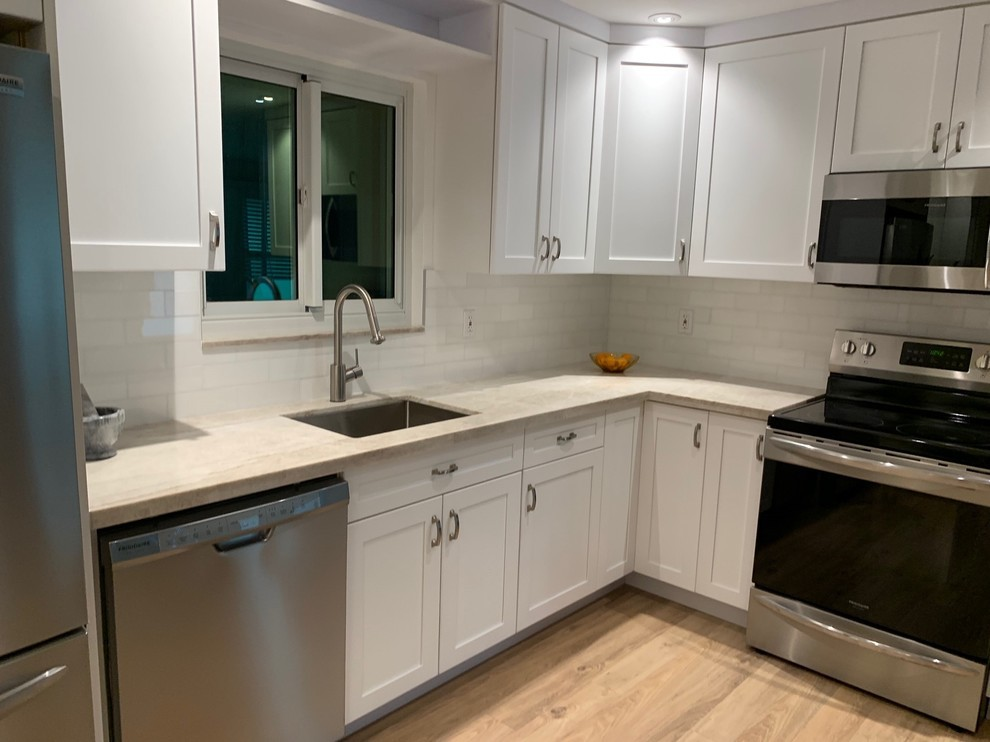 Transitional Kitchen Remodel in South Broward ...