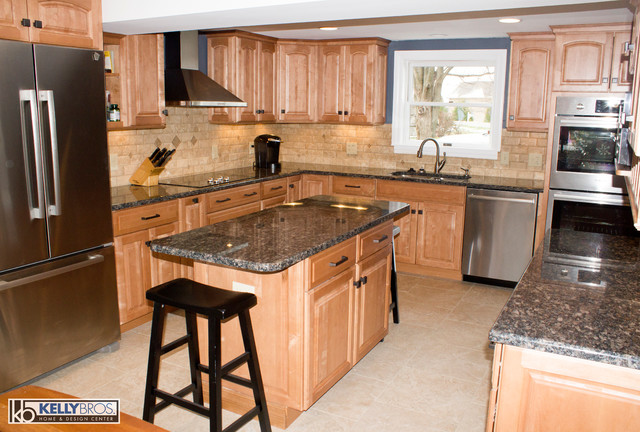 Transitional Kitchen Remodel Transitional Kitchen Cincinnati By Kelly Brothers Home