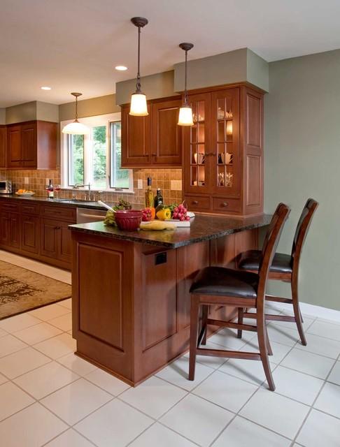Transitional Kitchen Remodel: Maple Glen, PA