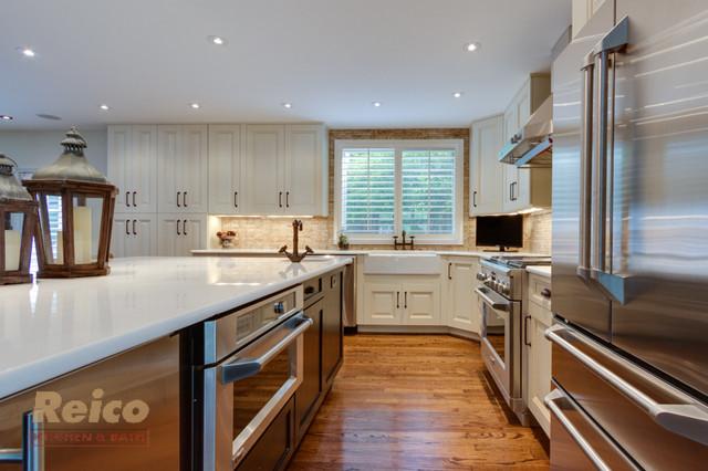 Transitional Kitchen Remodel Reston VA transitional-kitchen