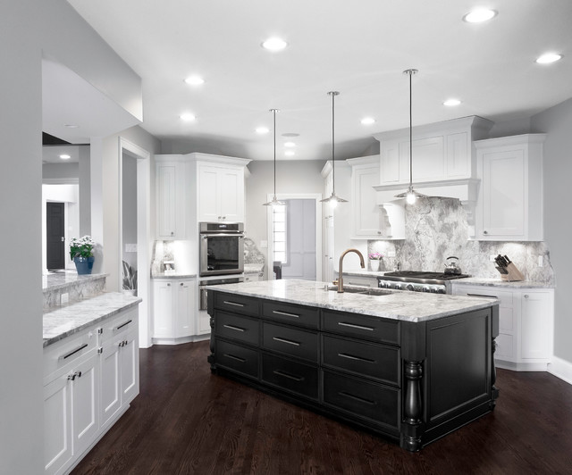 Crystal Tree Residence transitional-kitchen