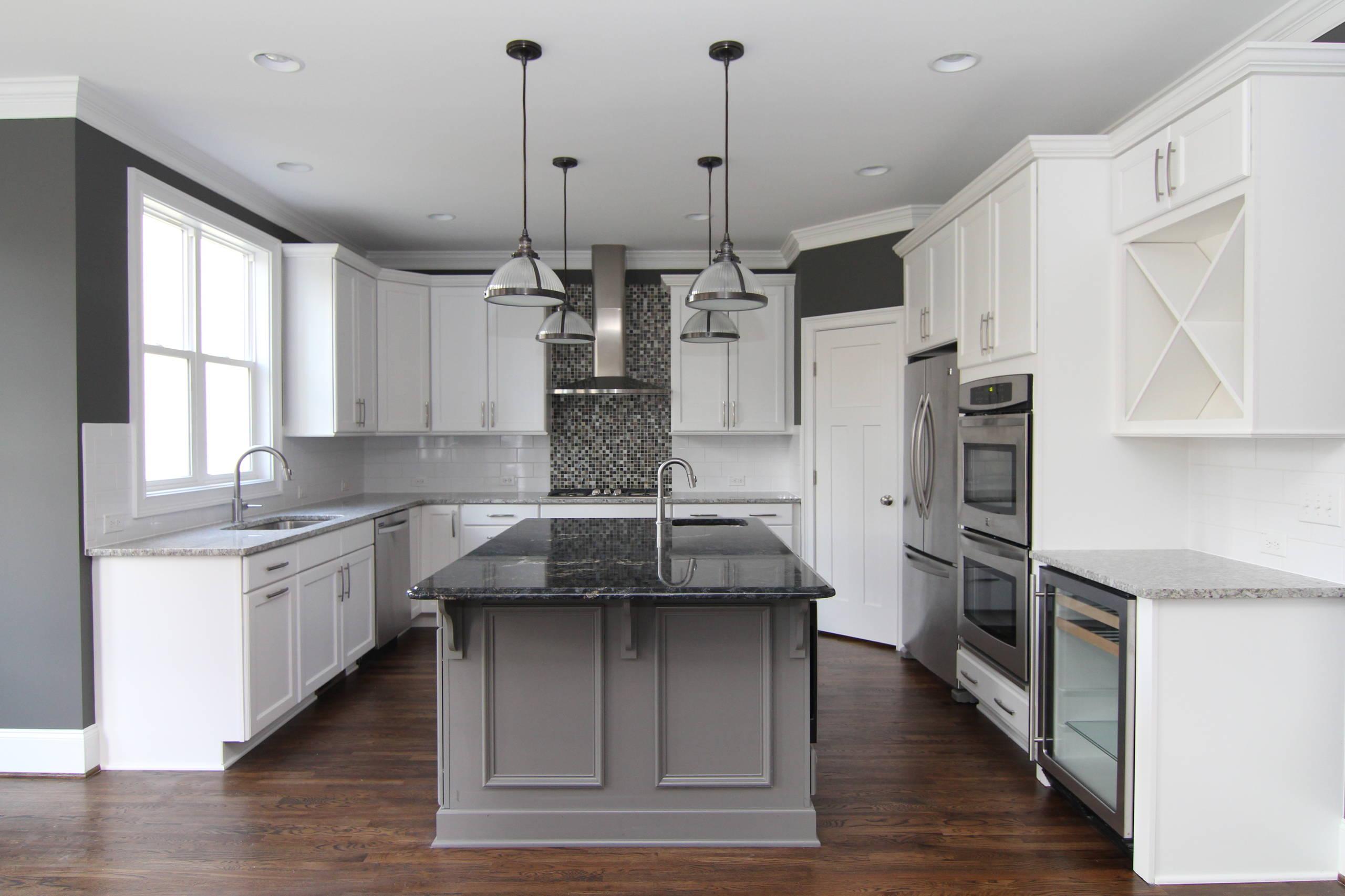 White Black Grey Granite Houzz