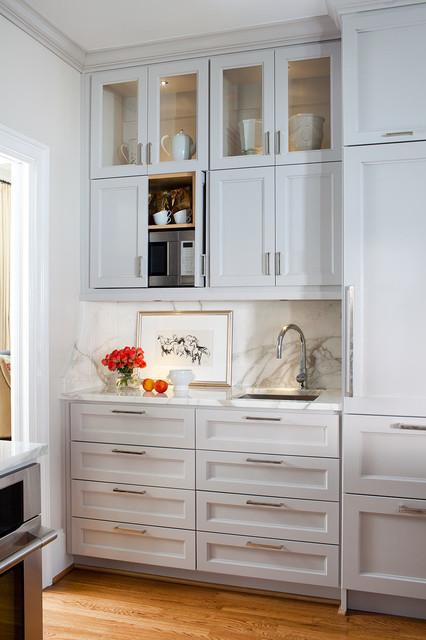 Lenox Kitchen & Family Room Renovation - Transitional - Kitchen - atlanta - by Terracotta Studio