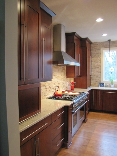 Transitional Kitchen With The Wow Factor Traditional Kitchen Other Metro By Kurtis