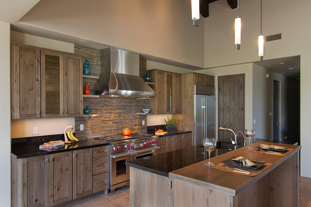 Transitional Kitchens - Transitional - Kitchen - Phoenix - by Arizona Designs Kitchens and Baths