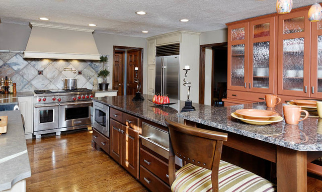 Transitional Kitchens By KBD Transitional Kitchen Indianapolis By Kri
