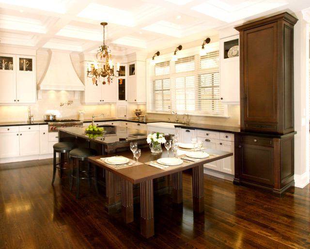 nice transitional kitchens design ideas