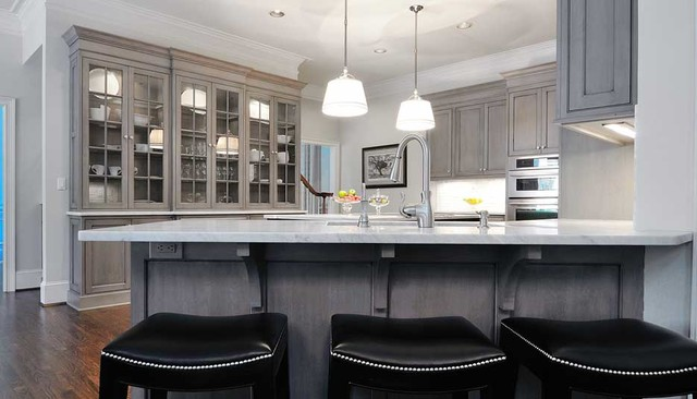Transitional Manchester Traditional Kitchen Other