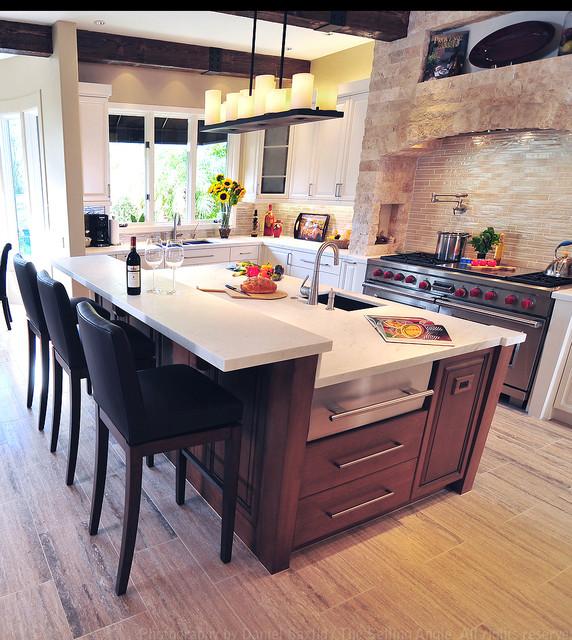 Mediterranean Kitchen Rustic Kitchen Los Angeles by Fran – Mediterranean Kitchen