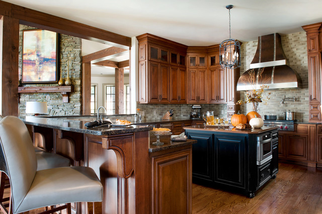 Marsh Mountain Home Contemporary Kitchen Charleston
