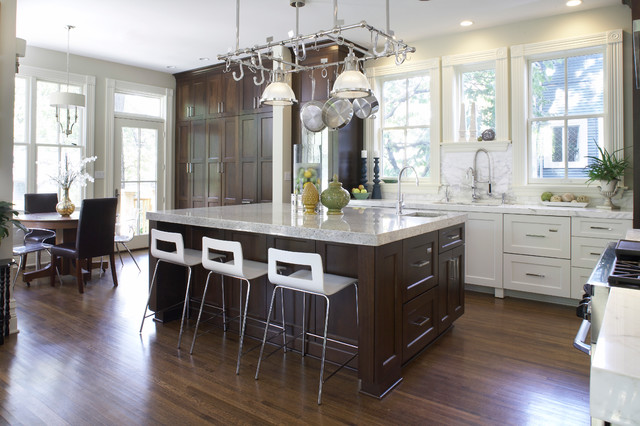 A modern day italianate contemporary kitchen chicago for Modern day kitchen designs