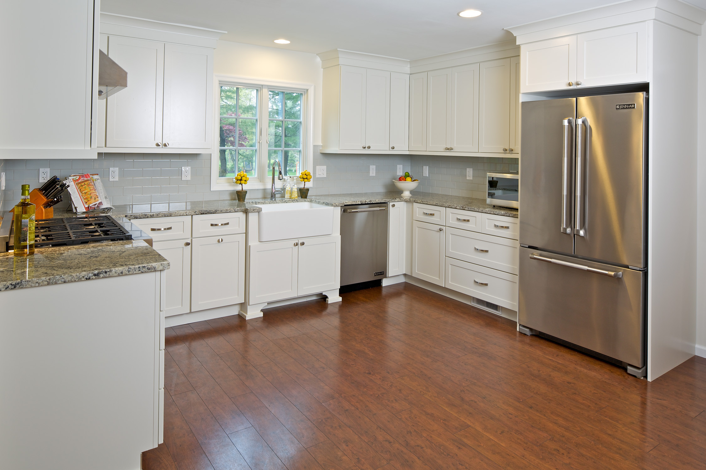 Transitional Painted Kitchens