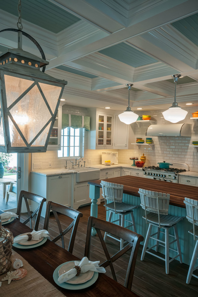Mid-sized transitional kitchen photo in San Diego