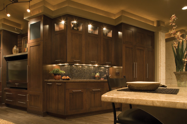 Transitional Treasure - Transitional - Kitchen - minneapolis - by Dura Supreme Cabinetry