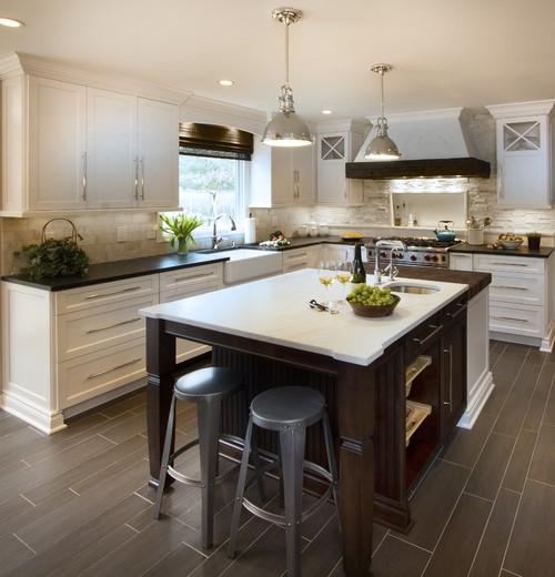 Transitional - Uptown Country Kitchen - Basking Ridge NJ