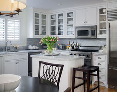 Transitional West Hollywood Condo Makeover traditional-kitchen