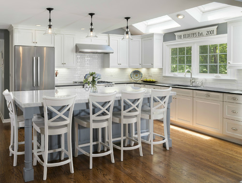 White kitchen countertops in Connecticut
