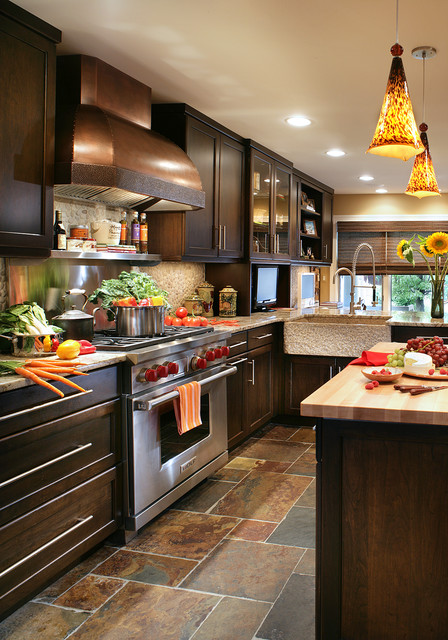 Transitional with a Twist transitional-kitchen