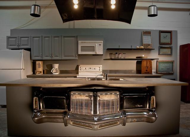 Trash or Treasure industrial-kitchen