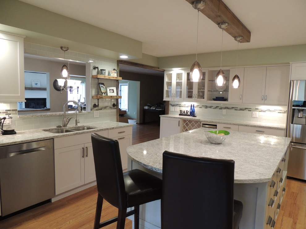 Traverse City Kitchen Remodel Transitional Kitchen Other By New Leaf Interiors