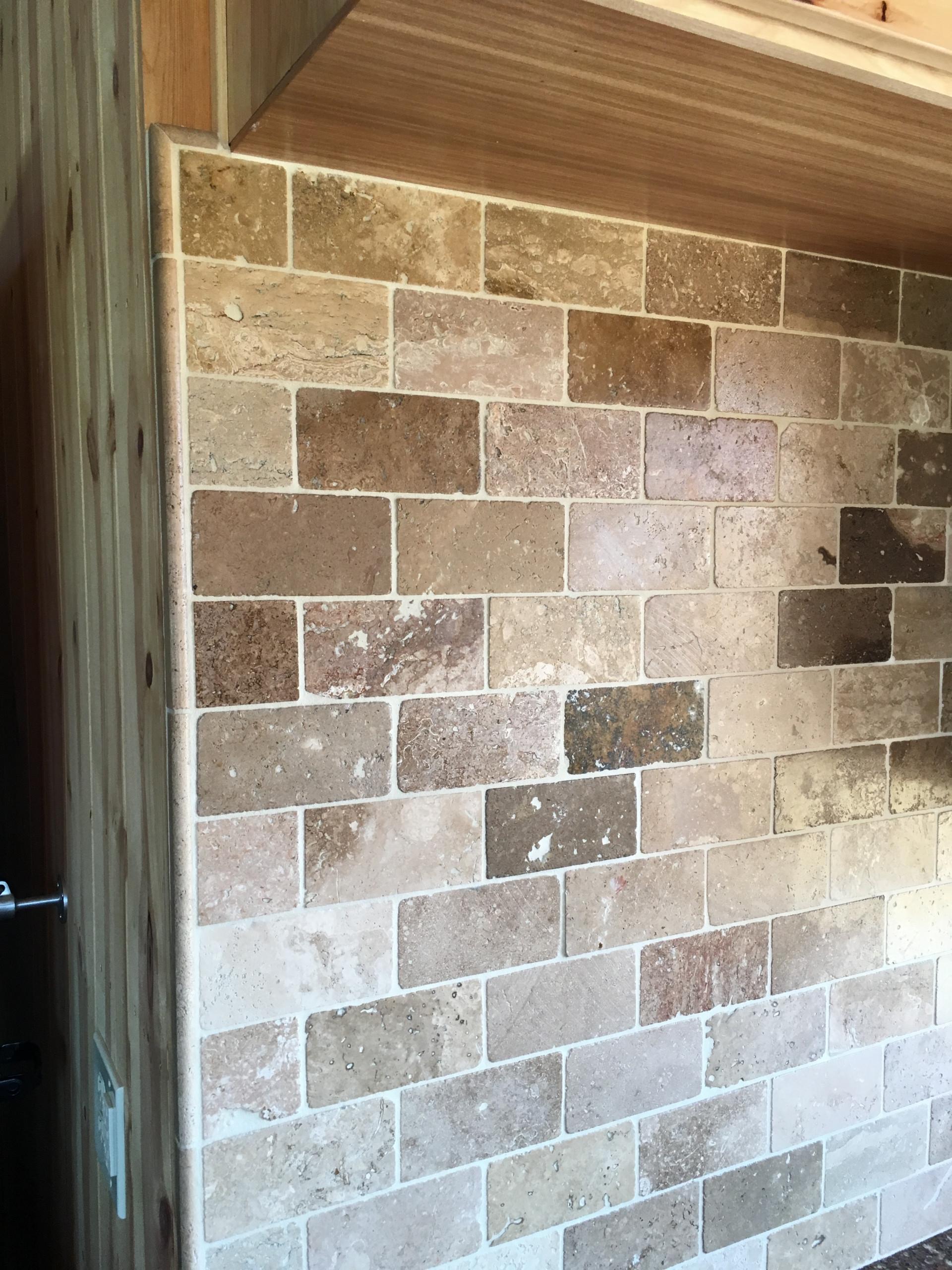 Travertine Tile for Traditional Kitchen in Lodi, CA