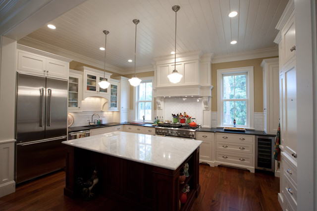 Treadlands Residence traditional kitchen
