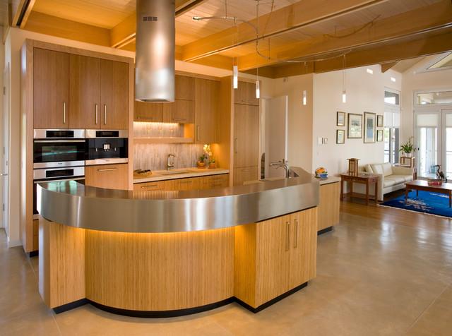 Treasure Island Green Home contemporary-kitchen