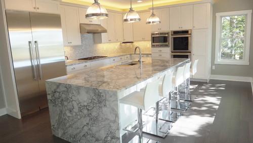 Granite island countertops