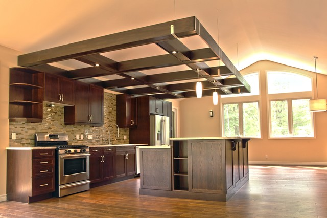trellis contemporary kitchen toronto by k mckechnie