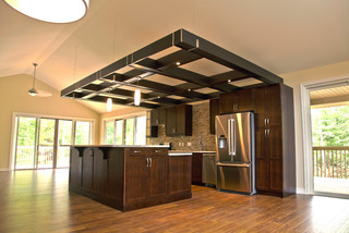 over kitchen for lighting contemporary toronto by architectural design trellis i