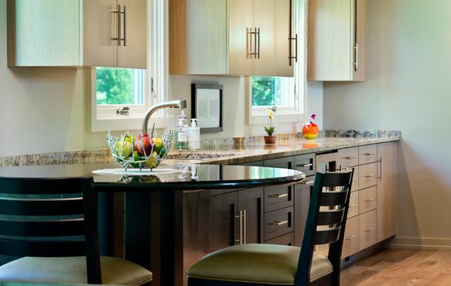 Tri level kitchen contemporary kitchen milwaukee for Tri level kitchen remodel