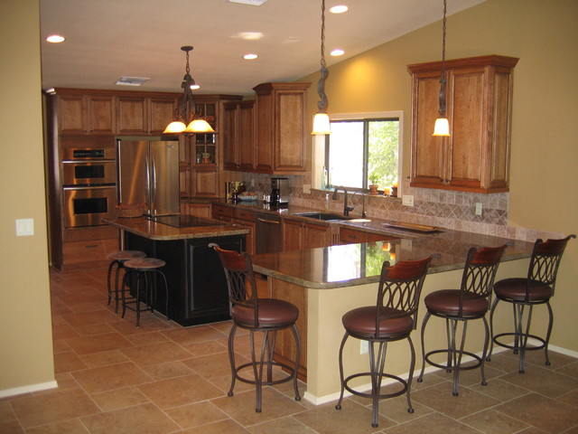 Tri-Lite Builders Kitchen Remodeling Projects contemporary-kitchen