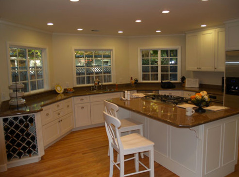 Tri Star Builders contemporary kitchen