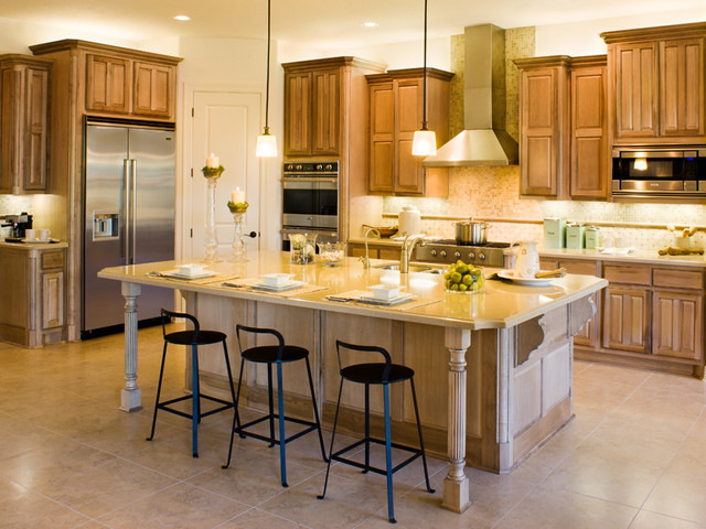 Triana Model Home traditional-kitchen
