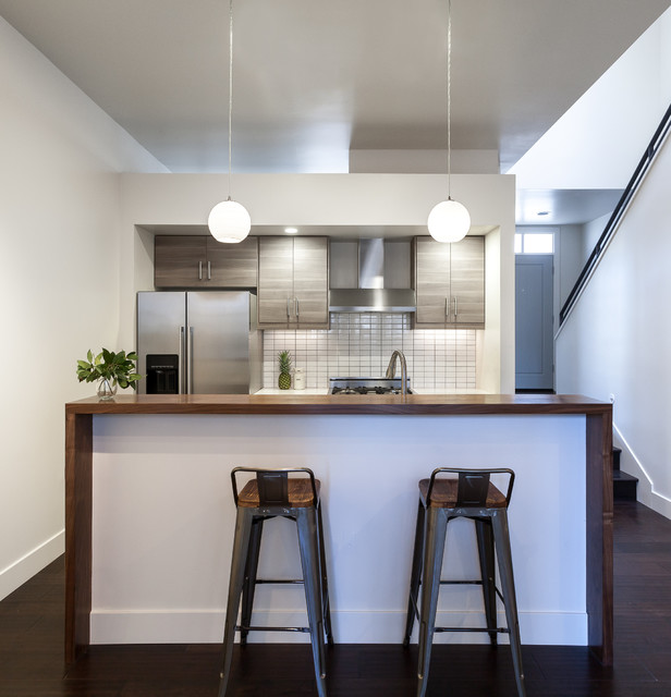 Kitchen Design Triangle: Triangle Row Houses