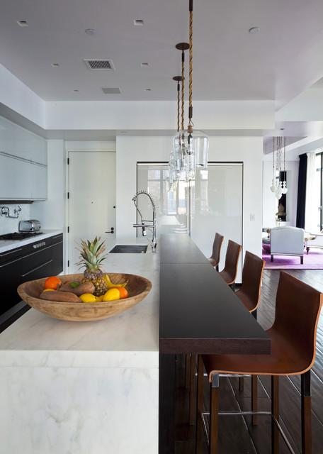 TriBeCa Loft contemporary-kitchen