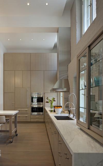 Tribeca Loft modern-kitchen