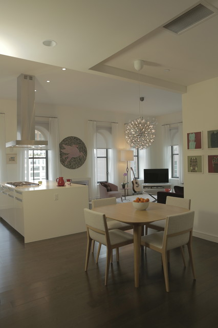 Tribeca penthouse contemporary kitchen new york by for Devonshire home design garden city ny