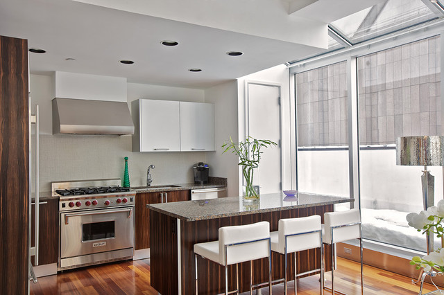 Tribeca penthouse contemporary kitchen new york by for Modern kitchen design new york