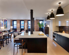 Tribeca Residence contemporary-kitchen