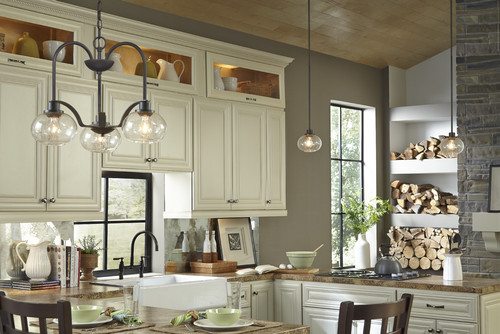 Best American Craftsman Style Lighting For Dining Rooms Trilogy Collection