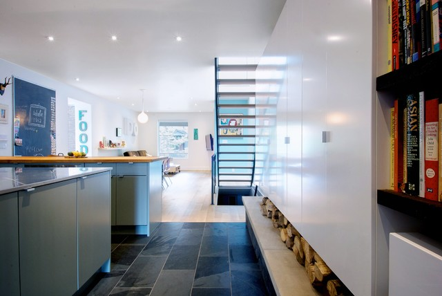 Trinity-Bellwoods Townhouse contemporary-kitchen