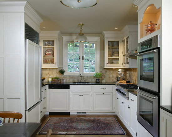 Small u shaped kitchen home design ideas pictures for U shaped kitchen designs